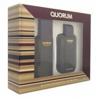 QUORUM ESTUCHE EDT 100ML+AFTER SHAVE 100ML